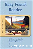 Easy French Reader: A Three-Part Test for Beginning Students
