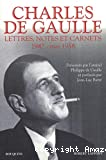 Lettres, notes et carnets. Tome 2, 1942 - mai 1958