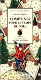 Comptines pour le temps de Noel